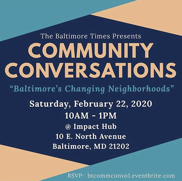 CONVERSATION 1 - BALTIMORES CHANGING NEIGHBORHOODS