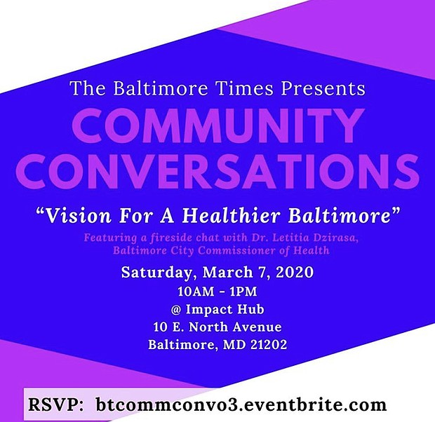 CONVERSATION 3 - VISION FOR A HEALTHIER BALTIMORE