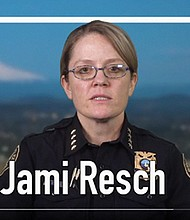 Portland Police Chief Jami Resch calls for applicants of all backgrounds and experiences in a new police officer recruitment video.