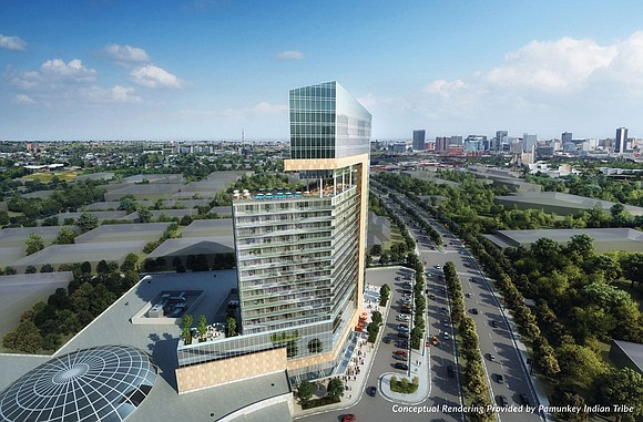 The Pamunkey Indian Tribe has gained a boost from the General Assembly in its efforts to build lavish casino-resort hotels ...
