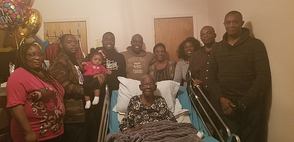 Great-great-great Hyacinth Bourne, 103, made her transition just one month after her 103rd birthday, in Bed Stuy, Brooklyn on Sunday, ...