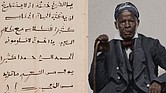 A page from Omar ibn Said's autobiography, written in Arabic around 1831. A digital version has been published on the Library of Congress' website. Page courtesy of Library of Congress. 