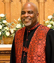 The Rev. Rodrecus M. Johnson, Sr., Pastor of Trinity A.M.E.
