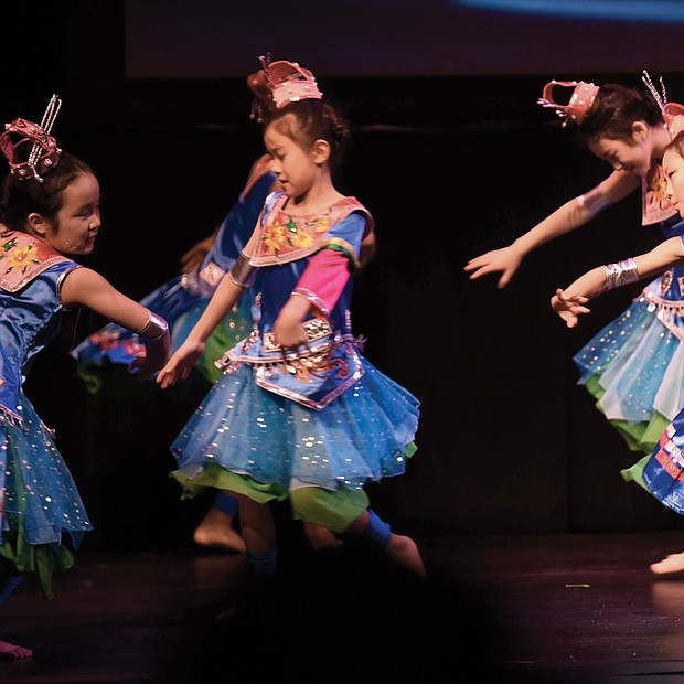 Members of the Yu Dance Arts perform at ChinaFest: Year of the Metal Rat, a celebration of the Chinese New Year held last Saturday at the Virginia Museum of Fine Arts. The event featured an exploration of Chinese culture through dance, demonstrations and activities for youngsters.