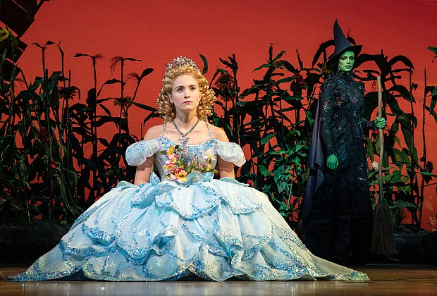 WICKED opened at The Hippodrome February 12, and will run through March 8.