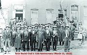 A March 11, 1923 photo of the Arch Social Club members/Arch Social Club