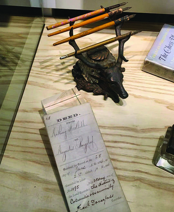 To commemorate Black History Month, American Writers Museum has curated a Frederick Douglass Tour to showcase some of the artifacts ...