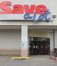 Save-A-Lot, 7908 S. Halsted St., is set to close on Feb. 22 and marks the third major business to close along the Halsted Corridor in Auburn Gresham in the past seven months. Photo credit: Wendell Hutson