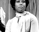 "Ja'net DuBois as ""Wilona Wood"" in ""Good Times"" in 1976"