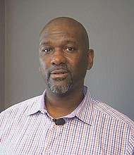 Michael Fesser, 48, of Portland, won a $600,000 civil suit this month against the city of West Linn for a wrongful arrest in an alleged racially-motivated harassment case from 2017 involving West Linn police, Portland's former gang enforcement team and his employer A&B Towing.  (KGW photo)