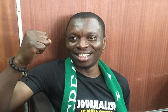 Nigeria is rounding up journalists who investigate corruption, jailing them for indefinite periods of time, and accusing them of treason.
