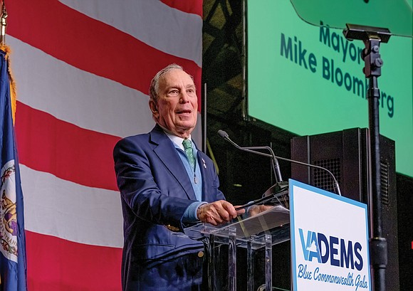 Roughly two weeks before Super Tuesday, former New York Mayor Michael Bloomberg was in Richmond looking for support from voters ...