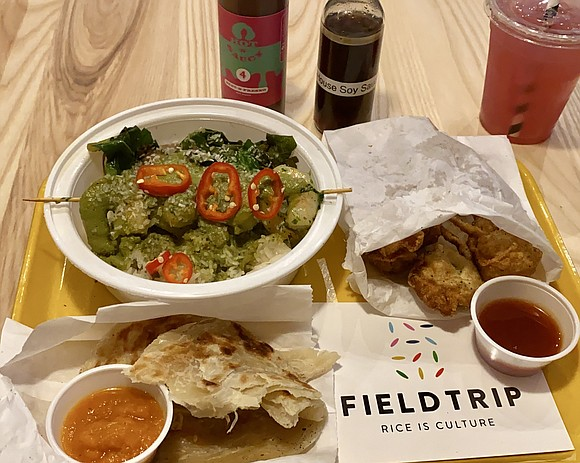 If you have not yet been to Chef JJ Johnson's Harlem fast-casual rice-centered eatery, Fieldtrip (@fieldtripharlem), you are missing out.