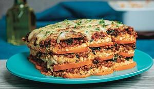 Royal Frozen Sweet Potato Lasagna