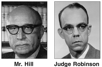 Noted Richmond civil rights attorneys Oliver W. Hill Sr. and Spottswood W. Robinson III and their role in the landmark ...