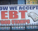 EBT at bodega in Harlem