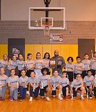 PS 189 Boys and Girls, 2019-2020 Turn 2 Us Basketball Champs