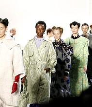 Fall/winter designs from three Hong Kong designers NYFW