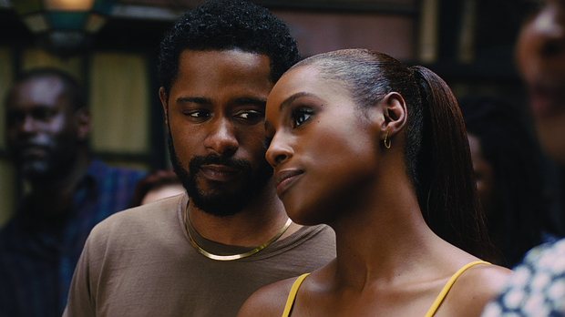 "LaKeith Stanfield and Issa Rae in ""The Photograph"""