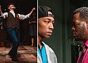 "Michael Mendelson, left, in the heart-opening play ""Indecent"" and La'Tevin Alexander and Reggie Lee Wilson illuminate aspects of the school-to-prison pipeline in ""Pipeline."""