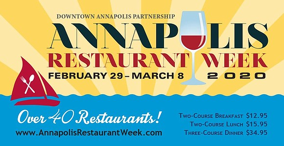 Annapolis Restaurant Week started twelve years ago to support local restaurants in the off-season.