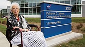 Katherine G. Johnson, whose pioneering 33-year career with NASA impacted the space program from the first manned space flight in 1961 to the early years of the Space Shuttle program in the 1980s, receives high praise and recognition as the NASA Langley Research Center in Hampton names the computational research facility in her honor in September 2017.