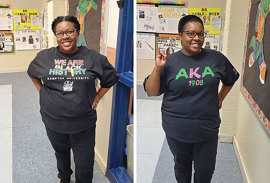 To celebrate Black History Month, a Virginia-based teacher is bringing..