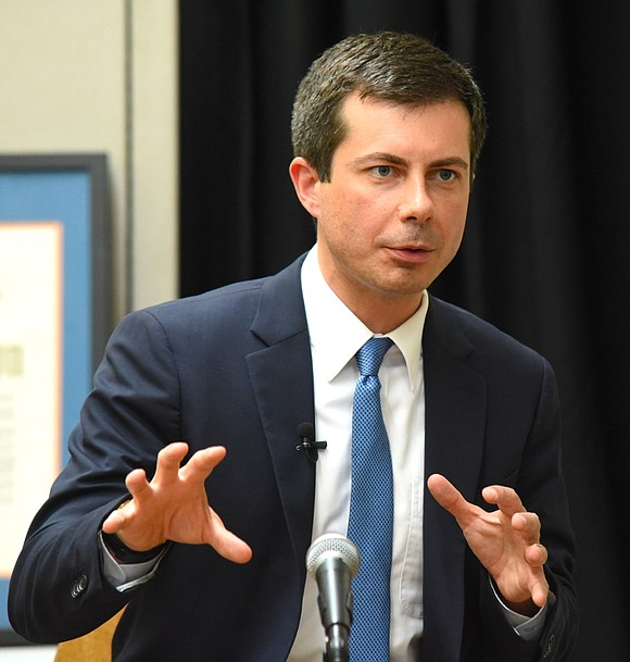 Pete Buttigieg ended his campaign for president on Sunday with a call for unity.