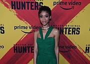 Baltimore actress Tiffany Boone at premiere of Jordan Peele produced Amazon series Hunters