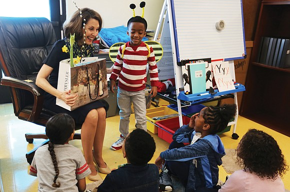 At Overby-Sheppard Elementary School, Read Across America Day on Monday was filled with inspiring stories read to youngsters featuring characters ...