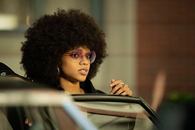 When you see the character Roxy Jones, played by Baltimore native Tiffany Boone, execute a couple of smooth roundhouse kicks ...