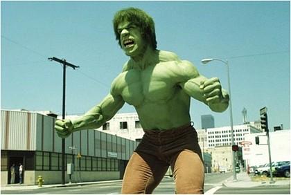 Figure 1 Lou Ferrigno as the Incredible Hulk