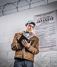 The forced imprisonment and relocation of over 110,000 Japanese-American citizens during World War II is chronicled in 'The Journal of Ben Uchida: Citizen 13559,' a new Oregon Children's Theatre production.