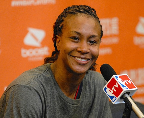It's a busy and exciting time for Tamika Catchings, who retired from playing after the 2016 WNBA season.
