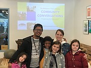 Kids at The Baltimore Times 'Community Conversation'