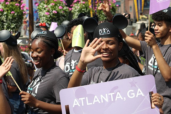 Check out this video of the 2020 Disney Dreamers Academy class at the Magic Kingdom parade.