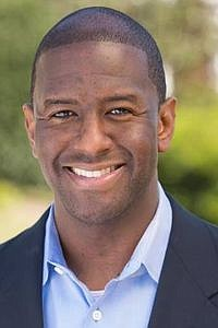 Former Tallahassee Mayor Andrew Gillum, who narrowly lost the race for Florida governor...