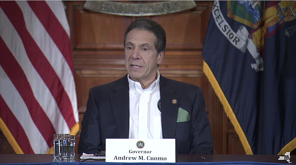 Gov. Andrew Cuomo holds a press briefing on how that state is handling the COVID-19 situation.