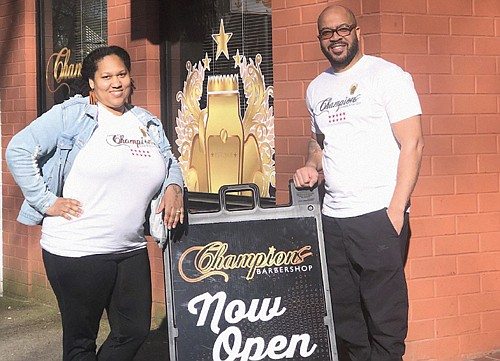 Locally-owned Champions Barbershop has opened a third location at 1430 S.W. Park Ave. in the South Park Blocks on the ...