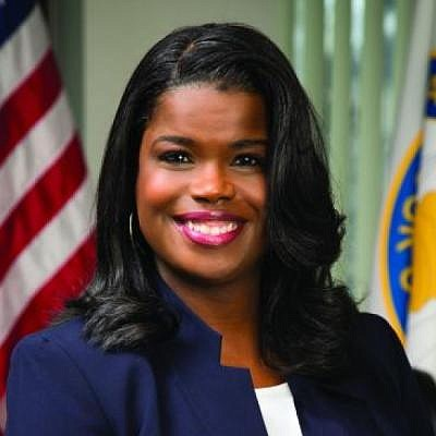 Incumbent Kim Foxx declared victory after the Democratic primary for...