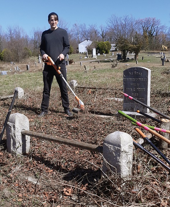 Woodland Cemetery, the burial place of humanitarian and tennis great Arthur Ashe Jr. and thousands of other African-Americans, is looking ...