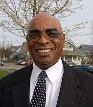 Bishop A. A. Wells is pictured outside his Emmanuel Temple church in north Portland in this Portland Observer archive photo from 2010. The founding bishop of the church and an esteemed leader in Portland's African American community, Wells died March 14 at the age of 81.