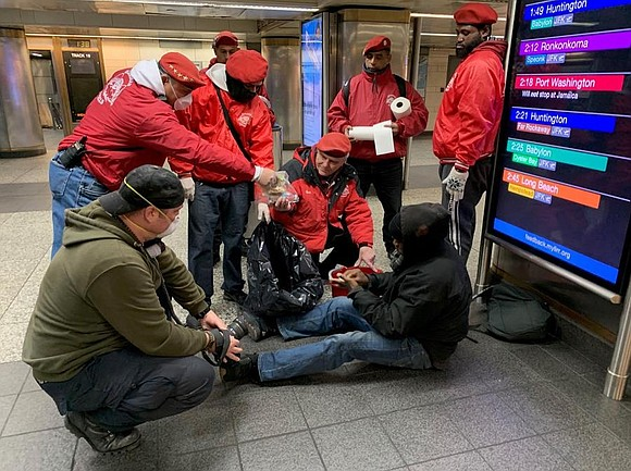 The Guardian Angels are stepping in to care for the city's most vulnerable population — the homeless and emotionally disturbed, ...