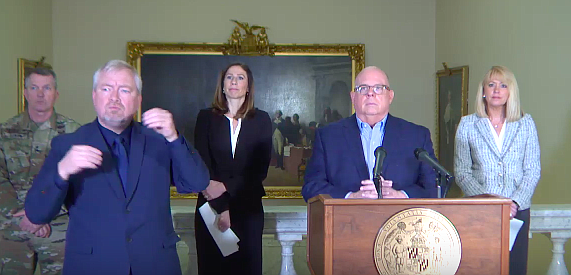 Governor Hogan Announces Closure Of All Non-Essential Businesses, $175 Million Relief Package For Workers And Small Businesses Affected By COVID-19