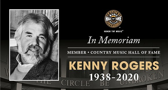 Country Music Hall of Fame member Kenny Rogers passed away Friday, March 20, 2020. He was 81. Rogers was inducted ...