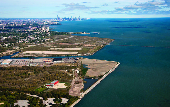 The Chicago Area Confined Disposal Facility, located at Calumet Harbor on the Southeast side of Chicago is set to reach ...