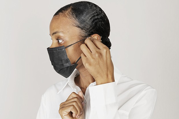 Woman wearing surgical mask, Coronavirus/COVID-19