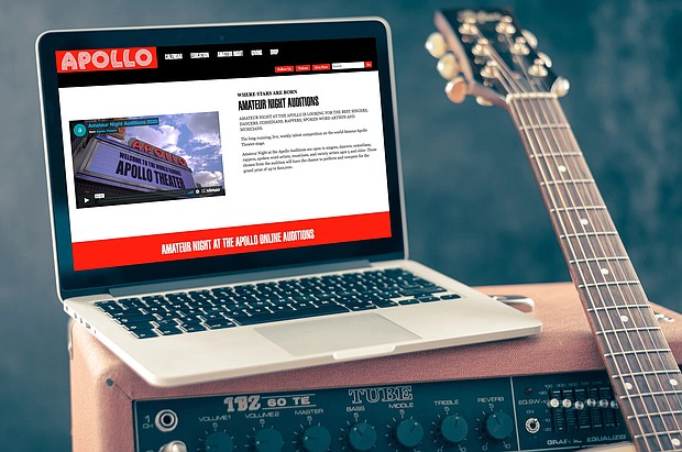 Apollo Theater online auditions