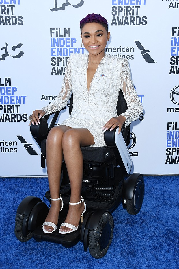 "Lauren ""Lolo"" Spencer,  2020 Spirit Awards nominee, in a Pronovias dress"
