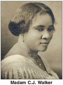 "Madam C.J. Walker may be one of America's most successful ""pull yourself up by your own bootstrap"" stories, but many ..."